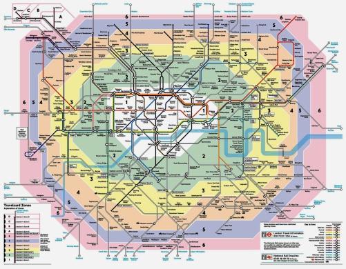 Vocês não ficam emocionados com um mapa de metrô desses?